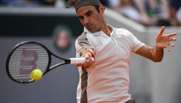 Federer y Ruud se midieron por la tercera ronda de Roland Garros 2019. (Foto: AFP)