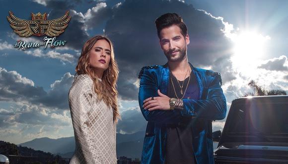 """La segunda temporada de """"La reina del flow"""" tendrá 80 capítulos, protagonizados una vez más por Carolina Ramírez, Carlos Torres y Andrés Sandoval (Foto: Caracol TV)"""