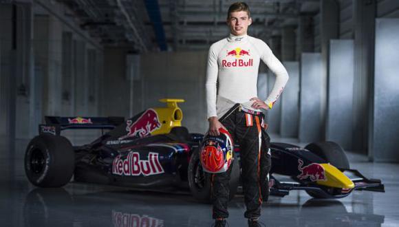 Max Verstappen será el piloto más joven en correr la Fórmula 1