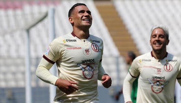 Jonathan Dos Santos volvió a anotar en Universitario y ya es goleador de la Liga 1 del 2020 con siete tantos. (Foto: Liga 1)