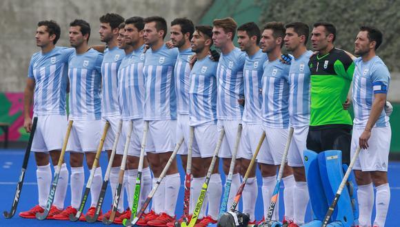 Argentina vs. Estados Unidos EN VIVO vía Latina: juegan por semifinales de hockey masculino de Lima 2019   Foto: Eugenio Savio / Lima 2019