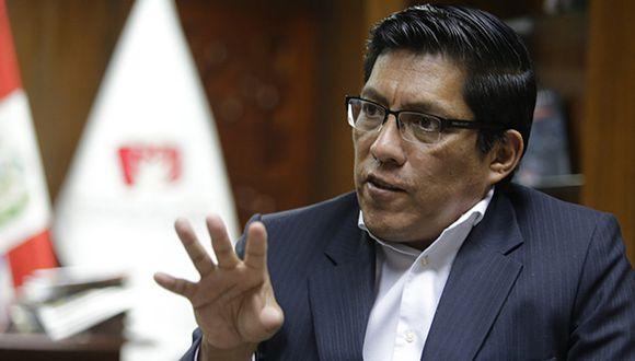 Zeballos aseguró que el acuerdo de colaboración eficaz suscrito hoy por la fiscalía va  a acelerar el proceso de extradición en contra de Toledo Manrique. (Foto: GEC / Video: TV Perú Noticias)