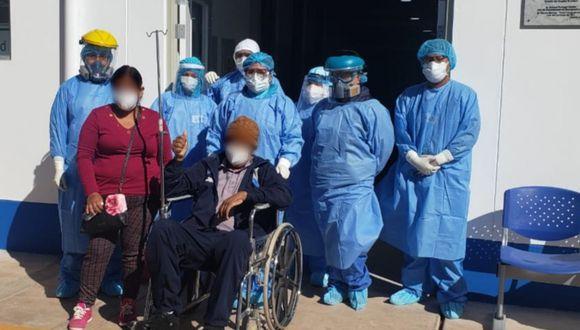 Juliaca: mujer dona equipos de protección a médicos por salvar a su esposo con COVID-19 (Foto: EsSalud)