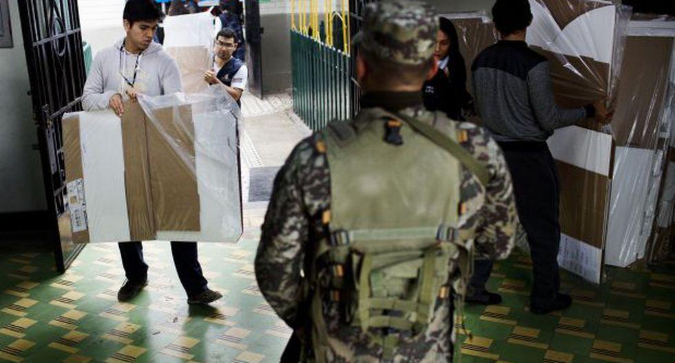 ONPE: Las 45 actas del Vraem todavía no son trasladadas a Lima