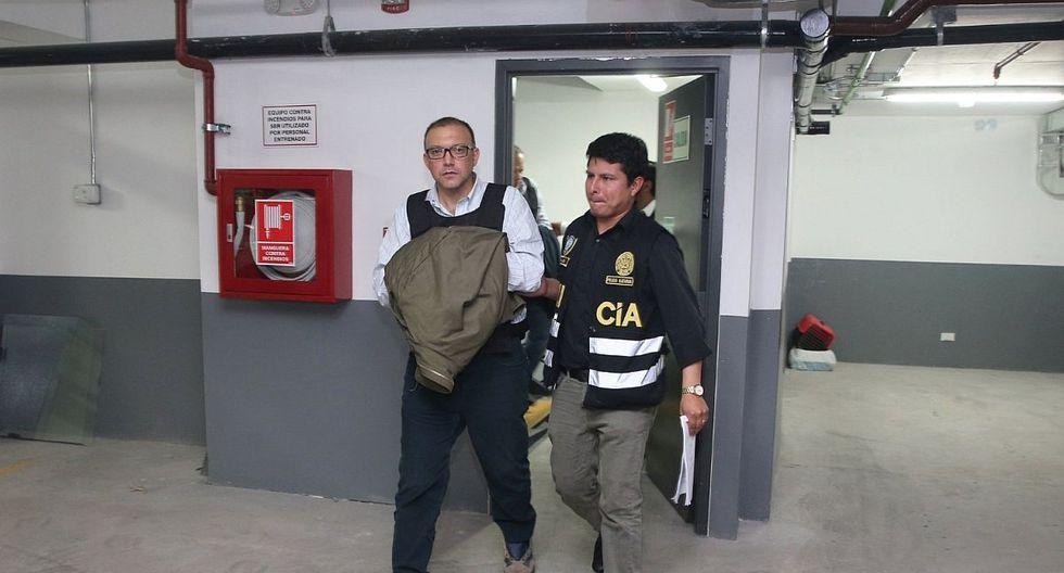 Pier Figari cumple ampliación de 12 meses de prisión preventiva en el penal Miguel Castro Castro. (Foto: GEC)