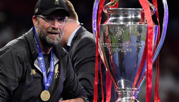 Klopp, el entrenador alemán que entró al corazón del Liverpool. (Foto: AFP)