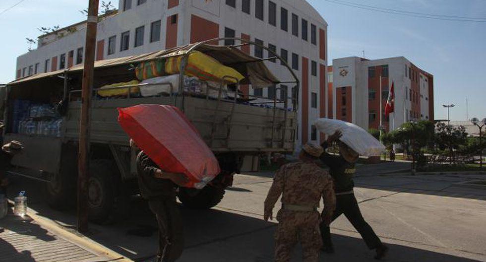 Arequipa: envían 100 toneladas de ayuda humanitaria