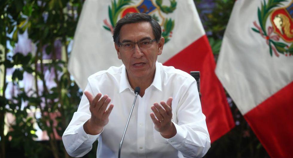 Vizcarra dará conferencia de prensa este viernes. (Foto: Presidencia)