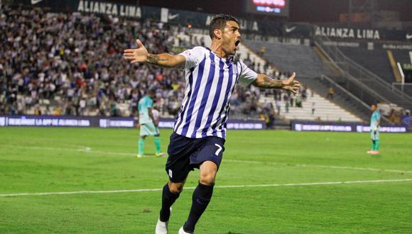 Luis Aguiar anotó 15 goles en 2017 y fue el goleador de Alianza Lima, (Foto: Alianza Lima