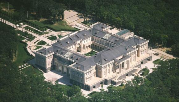 La investigación alega que la propiedad costó US$1.370 millones. (FOTO: PALACE.NAVALNY.COM