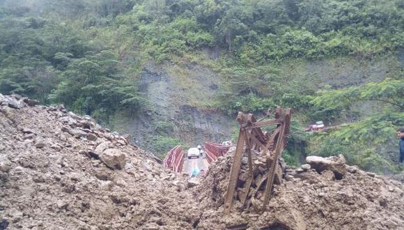 Cusco: puente colapsó tras derrumbe en La Convención