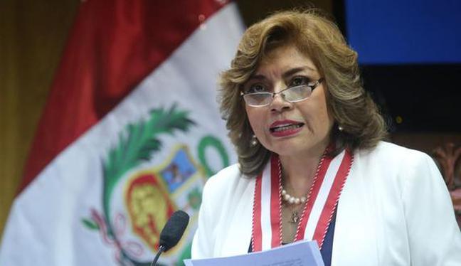 Zoraida Ávalos indicó que serán la Autoridad Sanitaria y los ministerios de Justicia y Derechos Humanos, y del Interior quienes determinarán el crematorio. (Foto: Andina)