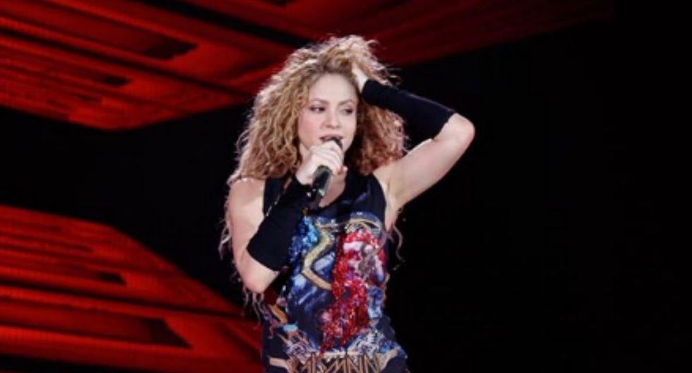 """Shakira In Concert: El Dorado World Tour"" (Foto: Instagram)"