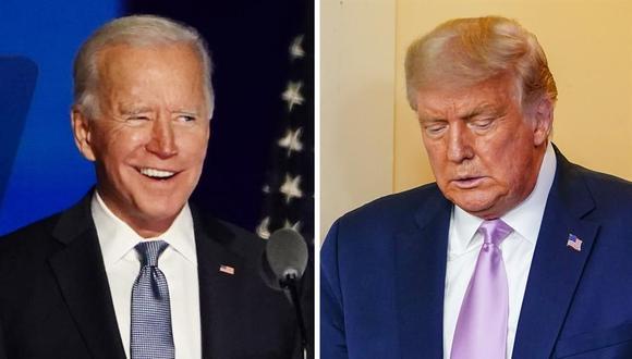 Joe Biden arrebató a Donald Trump la Presidencia de Estados Unidos. (EFE).