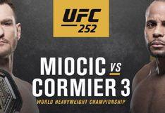 HOY, UFC 252 con Miocic vs. Cormier: canales, horarios y cómo VER EN VIVO el evento desde Las Vegas