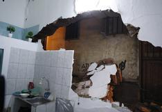 La Victoria: bomberos rescatan a albañil que quedó atrapado en derrumbe de vivienda | FOTOS