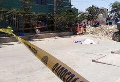 La Libertad: sicarios asesinan de ocho balazos a obrero de construcción