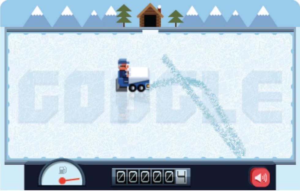 Zamboni. Frank Zamboni inventó en 1949 la primera máquina pulidora de hielo de la historia. Este sencillo juego trataba de arreglar las zonas por las que pasaron varios patinadores de una pista de hielo.
