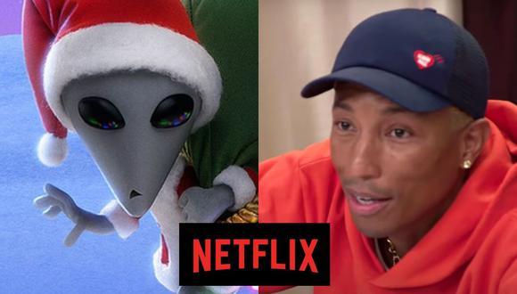 """La película animada """"Navidad Xtraterrestre"""" y la serie documental """"Voices of Fire: Unidos por el góspel"""" son algunos de los estrenos del día en Netflix (Foto: Netflix)"""
