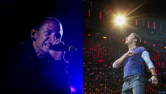 Coldplay rindió tributo a Chester Bennington.