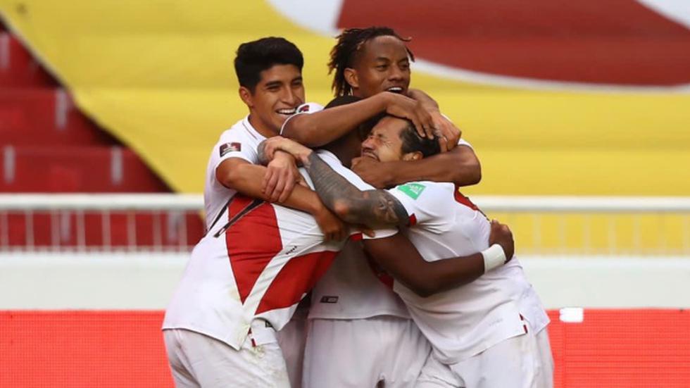 El once titular de la Selección Peruana para enfrentar a Brasil. (Foto: FPF)