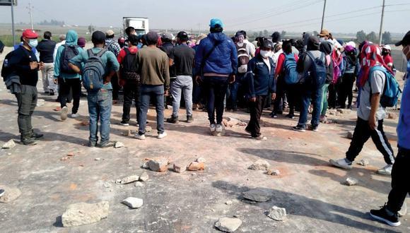 Ica: Defensoría reporta que manifestación está pacífica y ya inició mesa de diálogo (Foto: Ministerio Público)