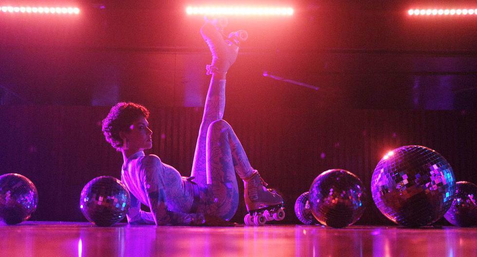 """De Cárdenas en un cuadro del videoclip de la canción: """"Show up"""", grabado en la mítica (y por ahora cerrada) discoteca Vale Todo Downtown. (Foto: Difusión)"""