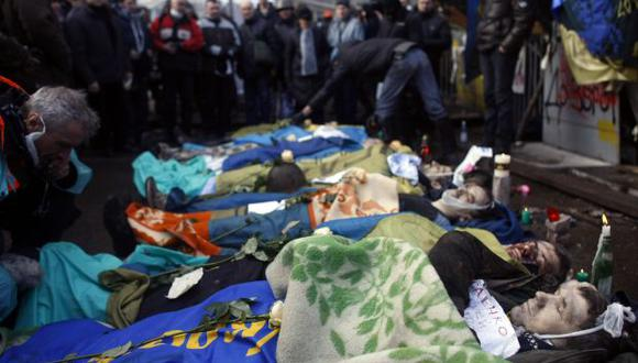 Ucrania: Presencia de francotiradores para acabar con protestas