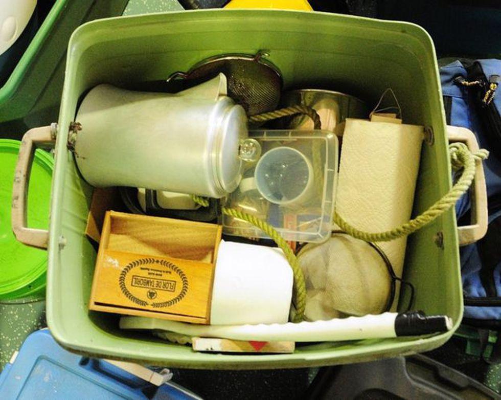 Una cafetera estaba entre los artículos fueron que encontrados en el campamento de Chris Knight. Foto: Getty Images, via BBC Mundo