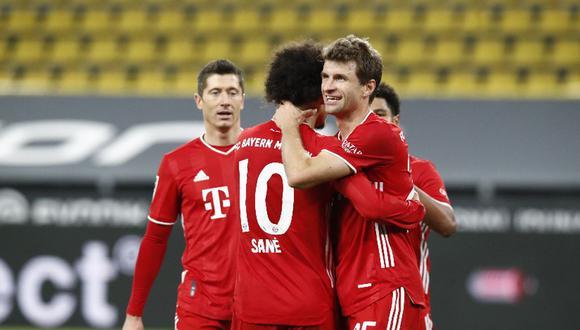 Bayern Múnich, líder de la Bundesliga de Alemania tras ganar 3-2 al Dortmund en un partidazo | Foto: @FCBayern