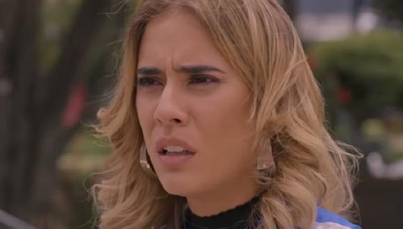 Yeimy queda destrozada al enterarse que no puede volver a ver a Emilio (Foto: La reina del flow 2/ Caracol TV)