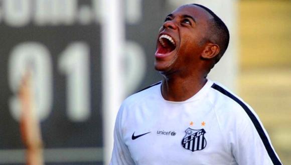 Robinho, con 36 años, regresa por cuarta vez a Santos FC. (Foto: Santos)