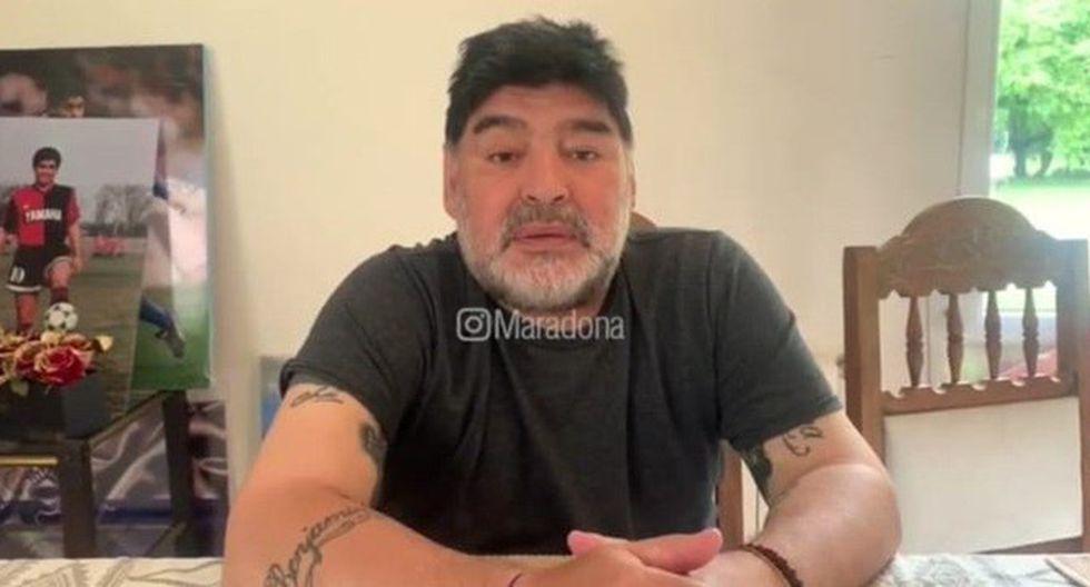 """Diego Maradona salió con todo a contestarle a Gianinna: """"No me estoy muriendo"""". (Foto: Instagram)"""