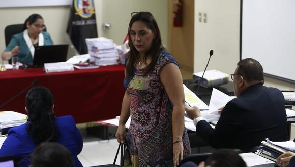 El Ministerio Público pide para Giselle Zegarra 36 meses de prisión preventiva. (Foto:  Cesar Campos / GEC)