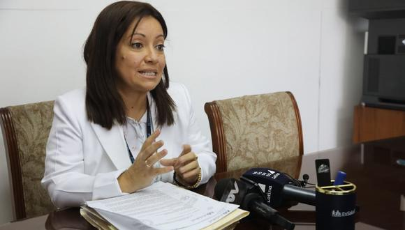 Inesperada fue la salida de Patricia Pimentel de la dirección del Ietsi (Foto:  Andina)