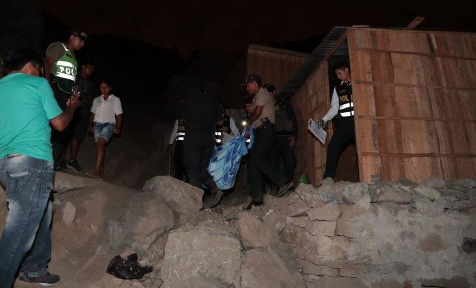 Los restos de Milena Tapullima Magipo fueron hallados en el interior de un cilindro, en San Juan de Lurigancho. (GEC)