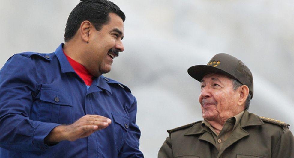 """Maduro: """"La hermandad de Cuba y Venezuela es indestructible"""""""