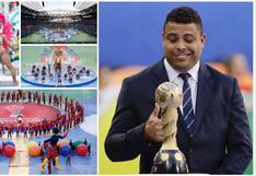 Copa Confederaciones: postales de colorida ceremonia de clausura que tuvo a Ronaldo