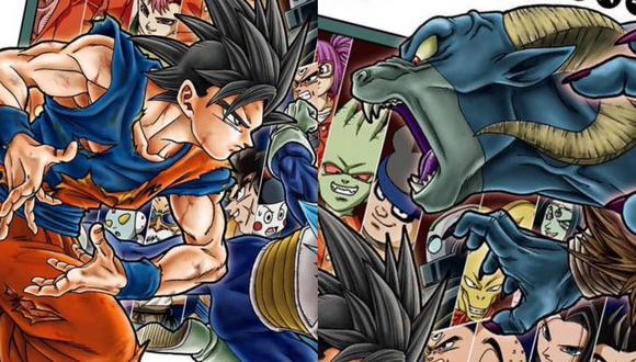 """Detalle de la portada del tomo 3 de """"Dragon Ball Super"""". Foto: Shueisha."""