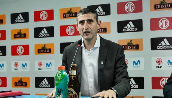 Juan José Luque es director general de Sporting Cristal desde el 2020. (Foto: Prensa SC)