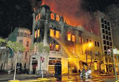 La memoria de Lima está expuesta a las amenazas del fuego