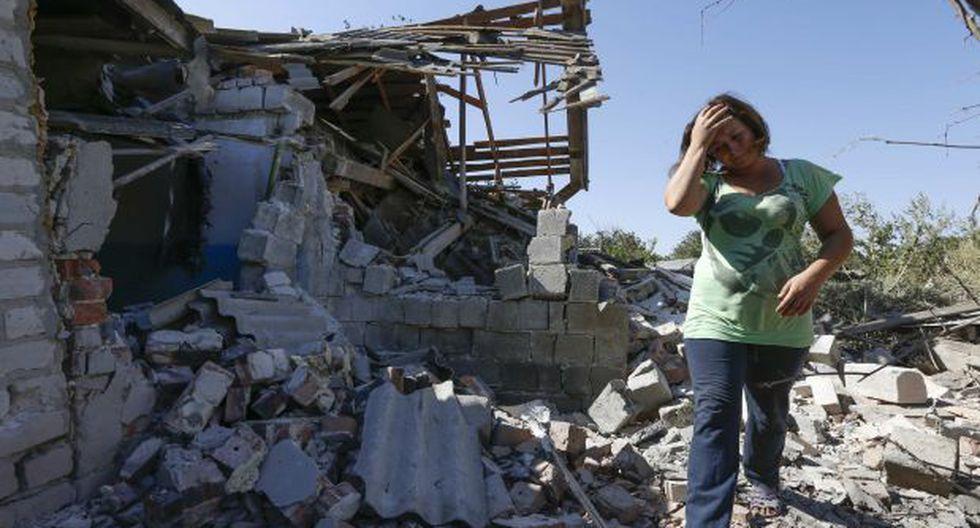 Ucrania: Enfrentamientos dejan 1 civil muerto y 4 heridos
