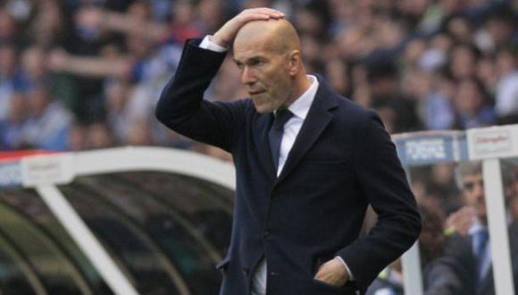 """Zinedine Zidane: """"No estoy tocado, pero sí decepcionado"""""""
