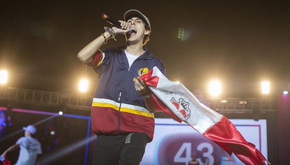 Jaze, el rapero peruano que se prepara para la final internacional como si fuera un examen. (Foto: Red Bull Content Pool)