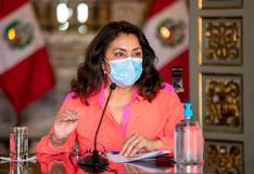 """Violeta Bermúdez: """"Es compromiso del Gobierno realizar las elecciones el 11 de abril"""""""
