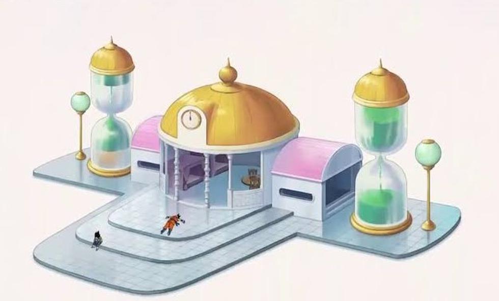 La habitación del tiempo fue utilizada por distintos personajes a lo largo de la saga. (Imagen: Captura de pantalla)