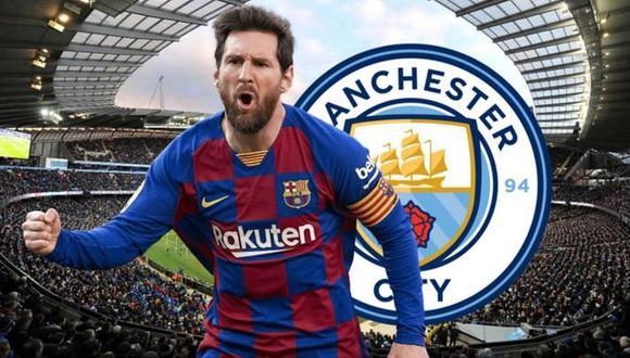 Lionel Messi estaría cerca del Manchester City, club en el que se reencontraría con Pep Guardiola y el 'Kun' Agüero. (Foto: captura de YouTube)