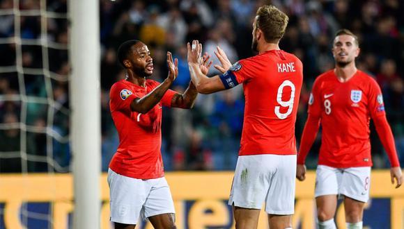 Inglaterra busca asegurar su pase a la fase de grupos de la Euro ante Bulgaria. (Foto: AFP)