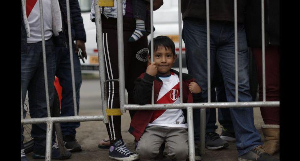 La llegada de la selección peruana a la Videna tras el título de subcampeón de la Copa América. (Foto: Renzo Salazar)