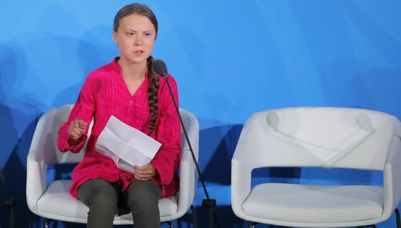 Greta Thunberg dijo que Argentina no tiene políticas para frenar el cambio climatico. (Reuters).